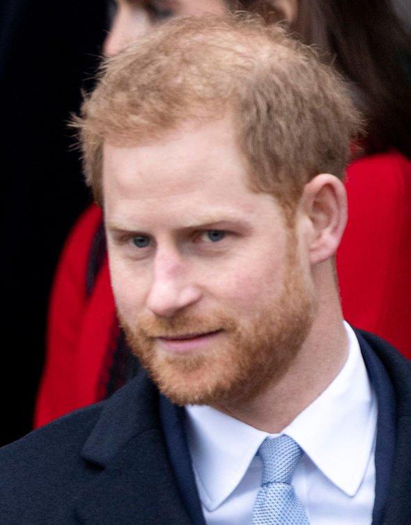 Prince Harry at Christmas