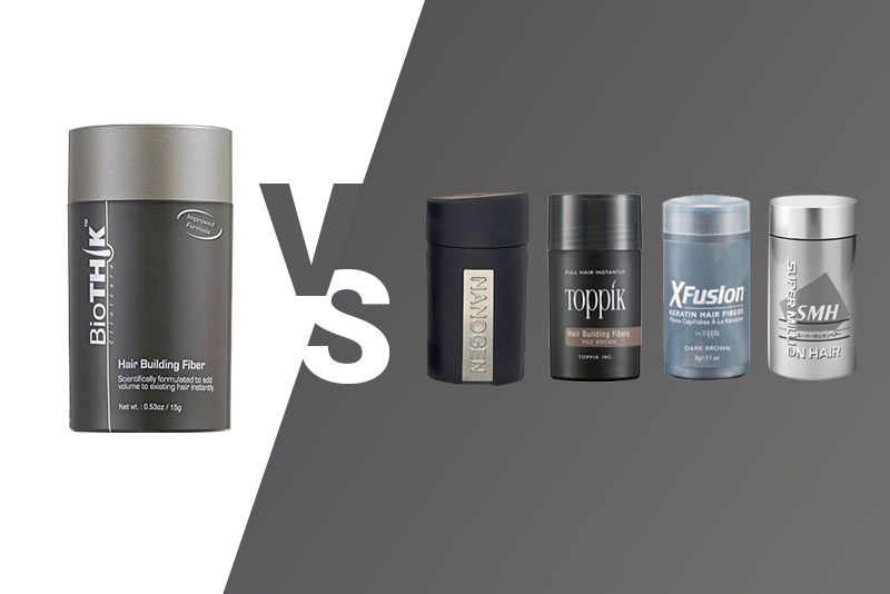 A Scientific Comparison of Hair Fibres: Biothik vs Toppik vs Nanogen vs X-Fusion vs Super Million Hair Fibers