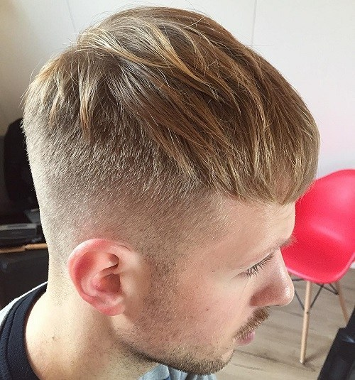 Mop Top hairstyle for men with thin hair